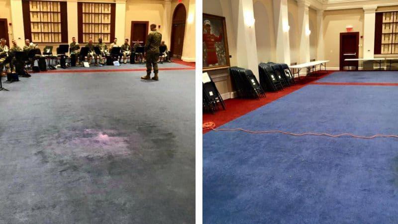 Carpet Dyeing, Restoration in Kokomo IN Residential Commercial