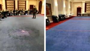 carpet dyeing output