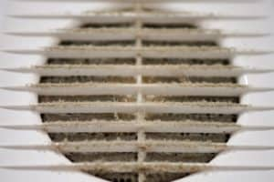 air duct dust cleaning